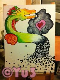 Quetzalcoatl, ce dragon impossible a écrire correctement, avec sa belle légende =)